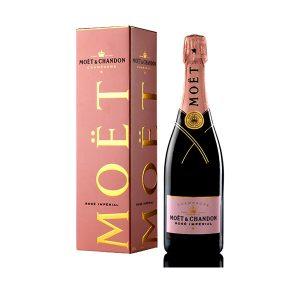Rượu Champagne Moet & Chandon (Hồng)
