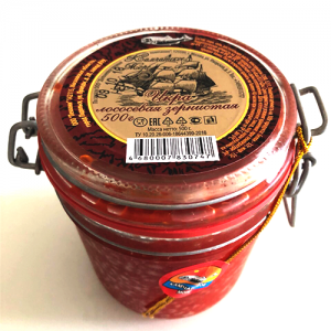Trứng cá Hồi đỏ Nga (500g)