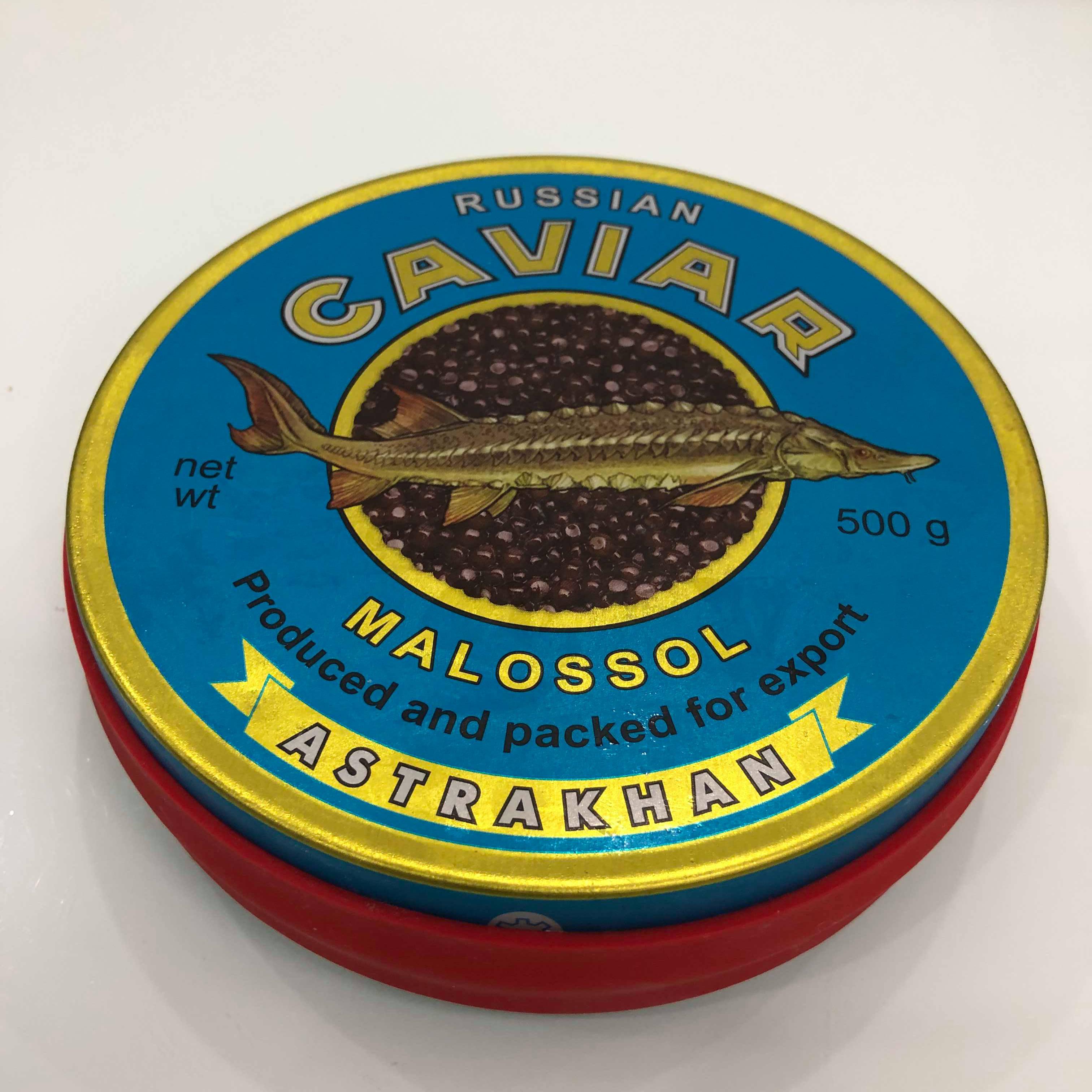Trứng cá tầm Caviar Nga (500g)