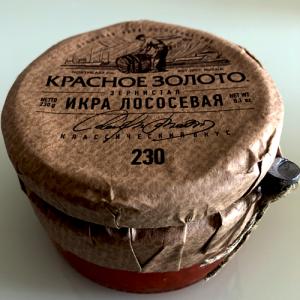 Trứng cá Hồi đỏ Nga (230g)