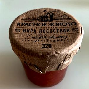 Trứng cá Hồi đỏ Nga (320g)