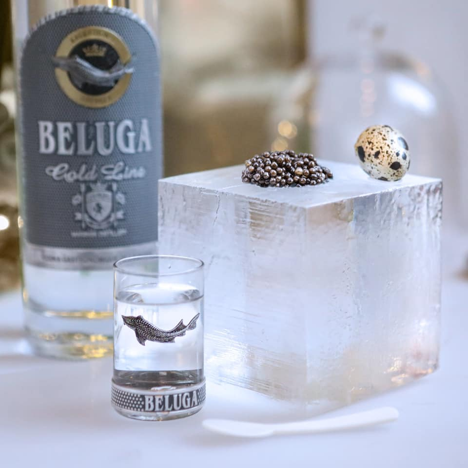 Beluga gold xách tay Nga
