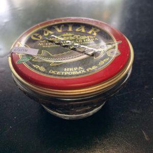Trứng Cá Tầm Đen Caviar (50g)